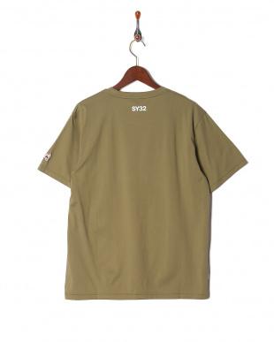 olive ハートロゴ ラインクルーネック 半袖Tシャツを見る