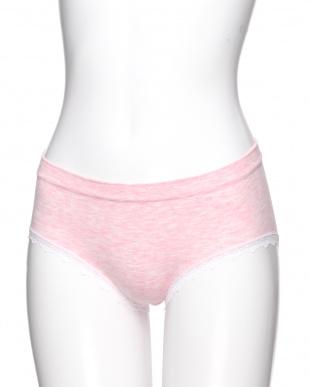ピンク・ラベンダー・ミントグリーン シェイプアップラインレスショーツ3色組を見る