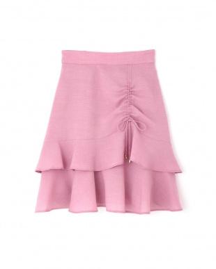 ピンク ティアードフレアスカート Jill by Jill リプロを見る