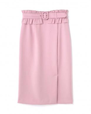 ピンク タイトロングスカート Jill by Jill リプロを見る