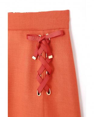 オレンジ サイドレースアップスカート Jill by Jill リプロを見る