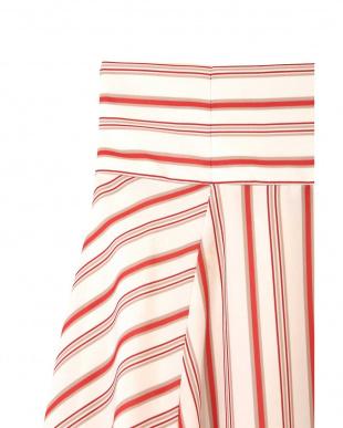 ベージュストライプ1 |美人百花3月号掲載|スプリングストライプスカート Jill by Jill リプロを見る