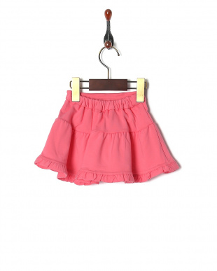 D・ピンク baby french terry skirtを見る