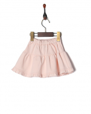 L・ピンク baby french terry skirtを見る