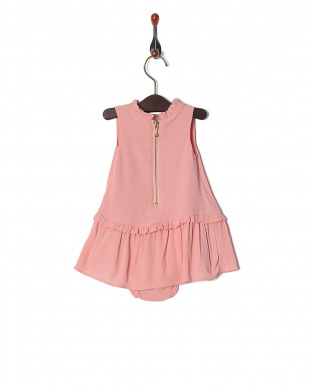 ピンク GBG SMOCKED YOKE DRESS SETを見る
