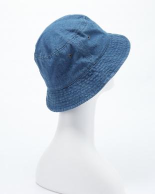 ブルー NEW WASHED DENIM BUCKET HAT(ウォッシュデニムバケットハット)を見る