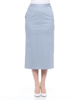 ホワイト ストレッチタイトスカート/Cを見る