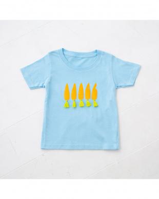 ブルー にんじんTシャツを見る