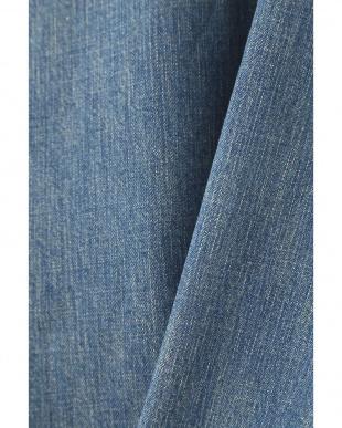 ブルー [THE KEIJI]Denim Dungaree 2way shirt アッシュスタンダードを見る