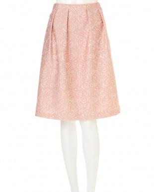 ピンク2 ラメフラワーJQスカート NATURAL BEAUTYを見る