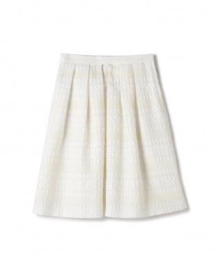 ホワイト1 [山中章子さん]《Purpose》CUCINOTTAスカート NATURAL BEAUTYを見る