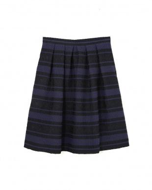 ネイビー [山中章子さん]《Purpose》CUCINOTTAスカート NATURAL BEAUTYを見る