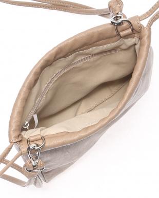 ライトベージュ 2WAY巾着バッグを見る