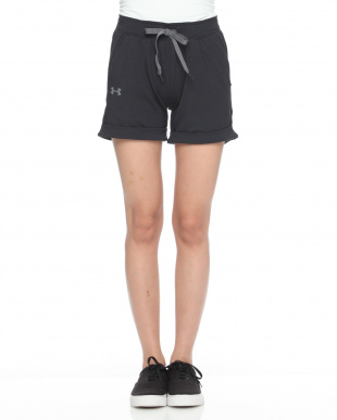 BLK/BLK/GPH  UA Featherweight Fleece Long Shortを見る