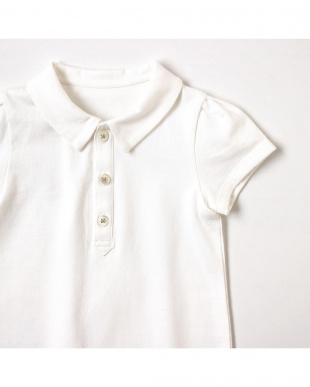 ホワイト シャツ衿ショートオールを見る