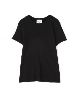 ブラック テレコクルーTシャツ TOKYOSTYLIST THEONE EDITIONorgを見る