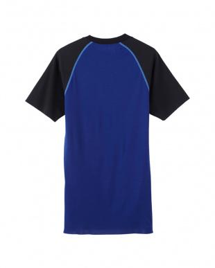 ネービーブルー クルーネックTシャツを見る