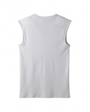 ライトグレー Vネックスリーブレスシャツ・吸汗速乾/冷感/抗菌防臭を見る