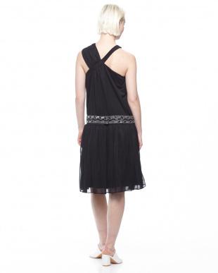 ブラック  ドレス(ビーズベルト付)を見る