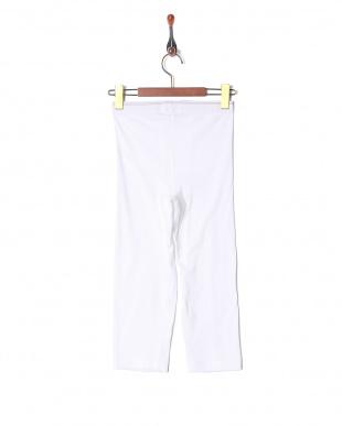ホワイト  日本製 綿100% ファイネストタッチ ニーレングス7分丈を見る