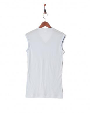 ライトグレー 吸水速乾 メッシュ ウルトラドライ Vネックスリーブレスシャツを見る