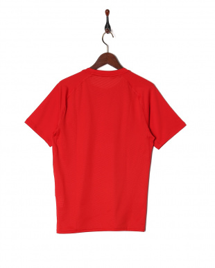 RED UA HEATGEAR ARMOUR FIT SS CREWを見る