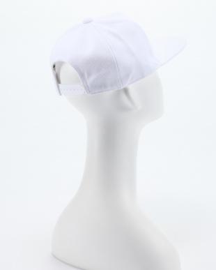 WHITE / / UA BB Flatbrim Emboss Capを見る