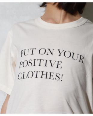 IVORY-1 プリント半袖ショートスリーブTシャツを見る