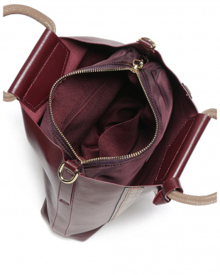 バーガンディ  レノン バッグインバッグ&ストラップ付 バッグを見る