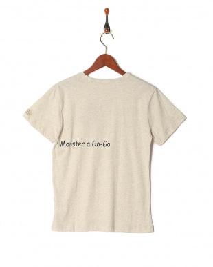 オートミール プリント半袖Tシャツ(大人)を見る