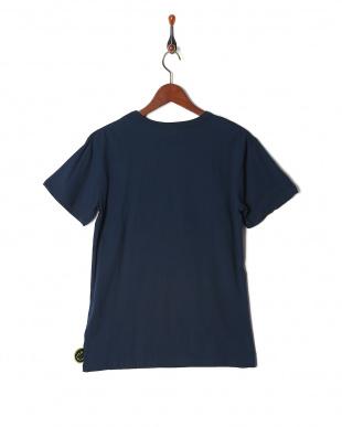 ネイビー プリント半袖Tシャツ(大人)を見る