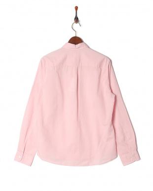 ピンク フレンチリネンシャツ LSを見る