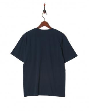 ネイビー オーバーダイポケットTシャツ SSを見る