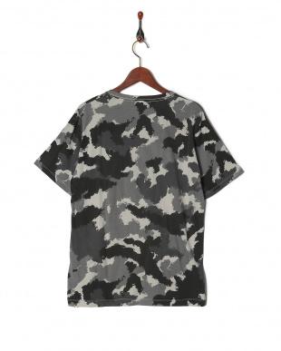 ブラック カモフラTシャツ SSを見る