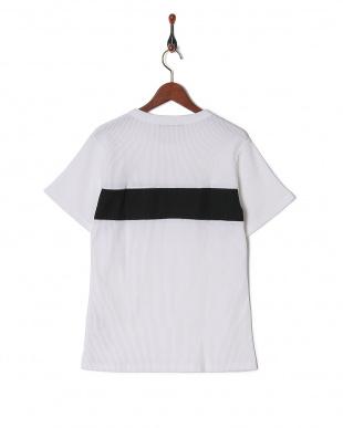ホワイト T/C度詰めワッフルTシャツ SSを見る