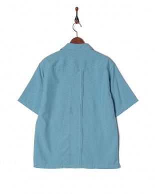 ブルー キューバシャツ SSを見る