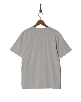 グレー リメイク風カレッジ切替Tシャツ SSを見る