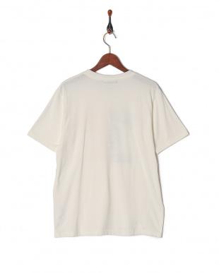 ホワイト リメイク風カレッジ切替Tシャツ SSを見る