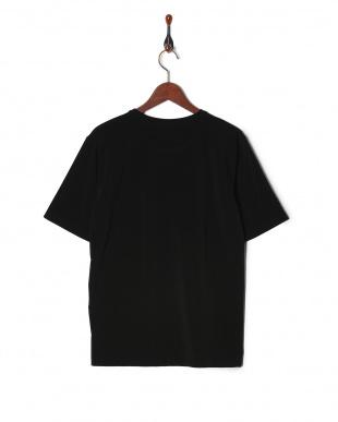 ブラック 日本製強撚ベア天Tシャツ SSを見る