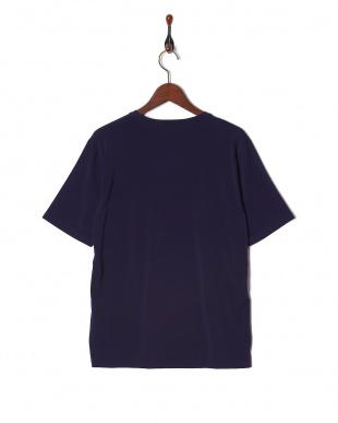 パープル 日本製強撚ベア天Tシャツ SSを見る