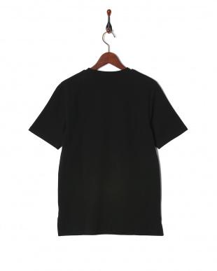 ブラック ミラノリブ切替Tシャツ SSを見る
