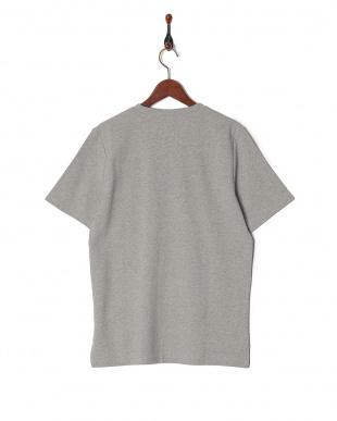 グレー ミラノリブ切替Tシャツ SSを見る