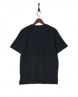 ネイビー ミラノリブ切替Tシャツ SSを見る