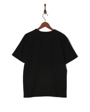 ブラック 切替ボーダーTシャツ SSを見る