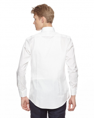ホワイト ドレスシャツを見る