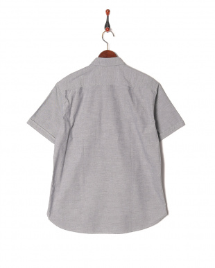 グレー テクニカルオックスボタンダウンハーフスリーブシャツを見る