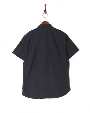 ネイビー テクニカルオックスボタンダウンハーフスリーブシャツを見る