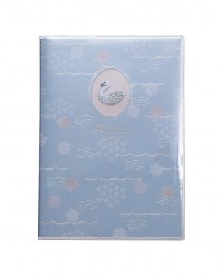 ブルー/ネコ ガーリー刺繍 ステッカーセットを見る