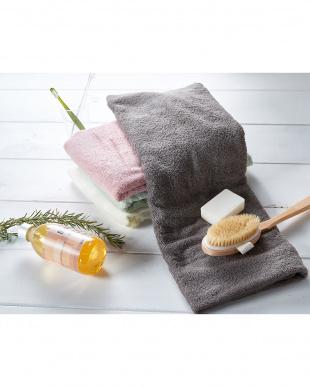 モカブラウン 世界3大コットン「新疆綿(しんきょうめん)」使用 バスタオル 5枚セットを見る