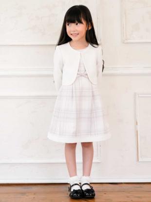 ピンク 【セレモニースタイル】フォーマルチェックワンピースドレス a.v.v bout de chouを見る
